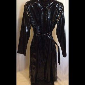 Calvin Klein Polyurethane raincoat  classy